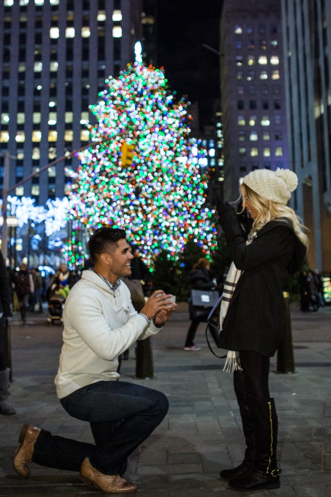 Photo Proposal by the Christmas tree Rockefeller Center | VladLeto