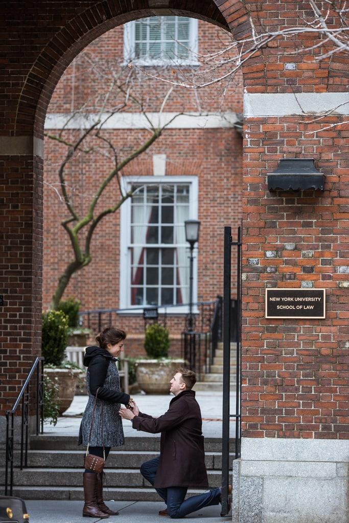 Photo Marriage proposal by NYU School of Law | VladLeto