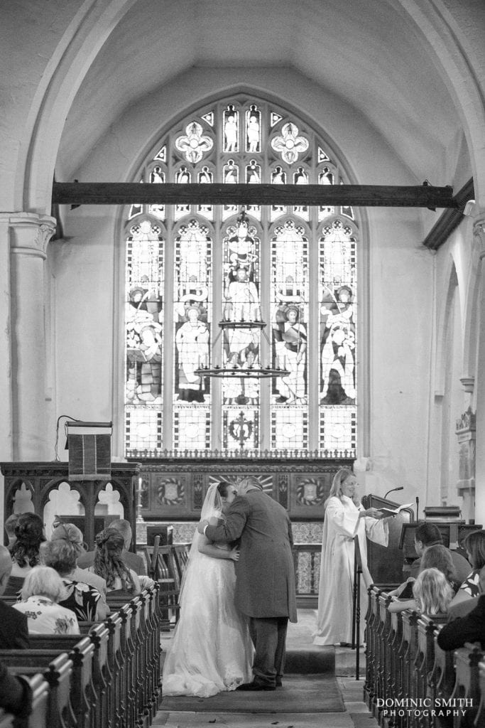 Wedding Ceremony at St Katherines, Merstham