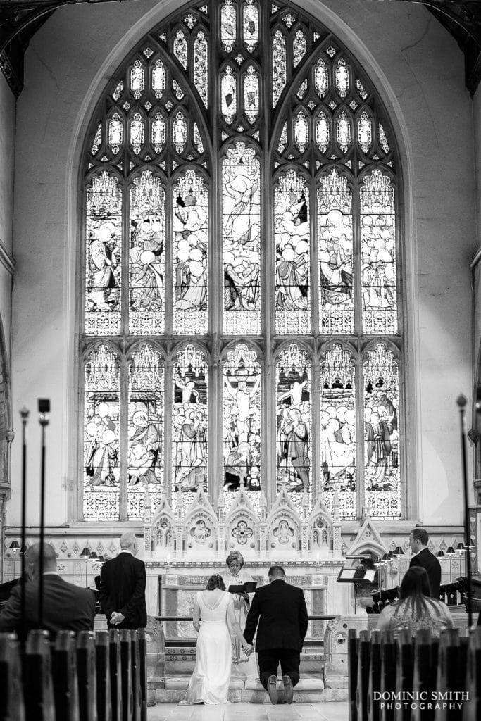 Wedding Ceremony at St Marys Horsham