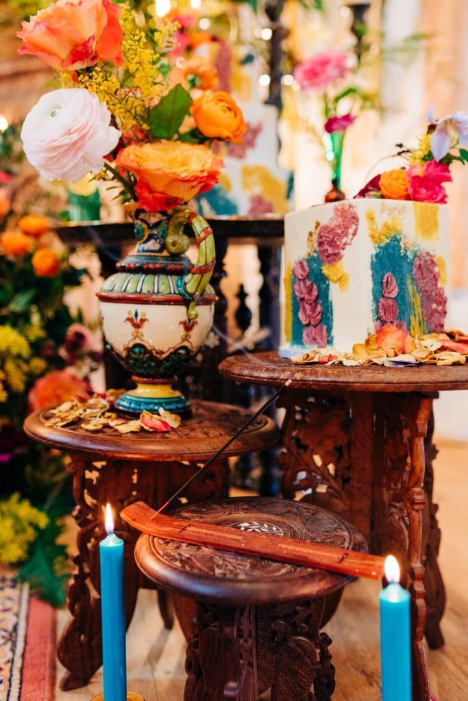 Colourful Moroccan wedding