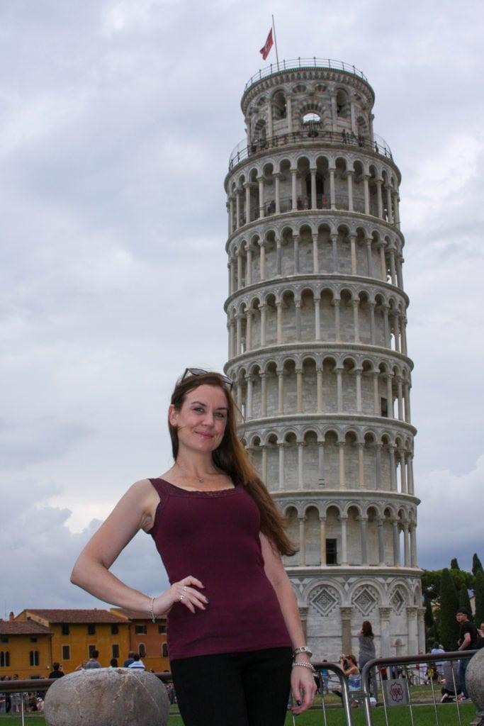 Melanie May Travel Journalist in Pisa Italy