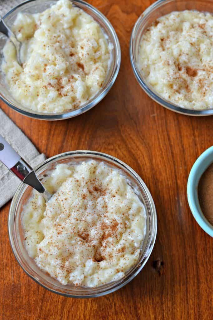 Scrumptious Rice Pudding