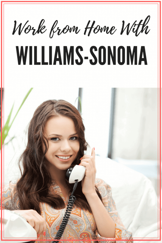 Williams Sonoma Work From Home