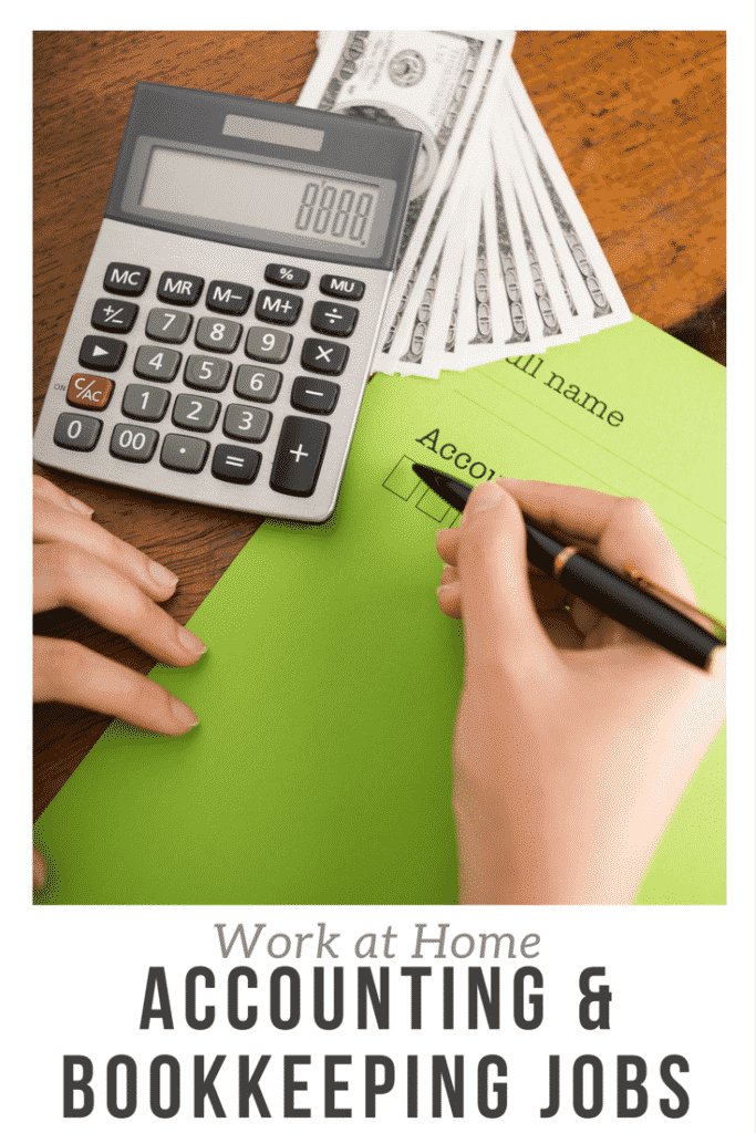 Work From Home Accounting Jobs