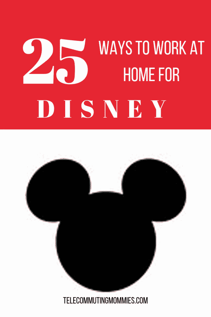 Work For Disney From Home