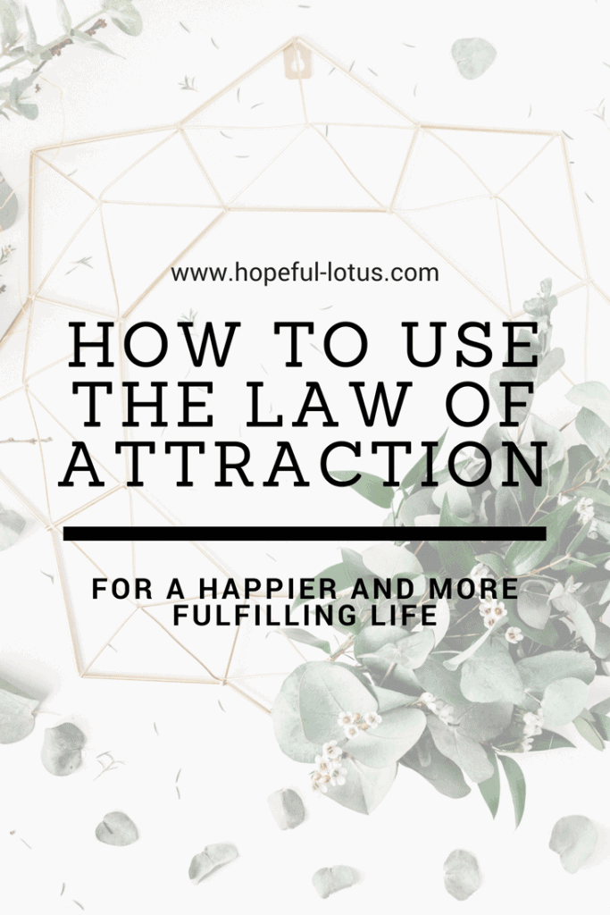 The law of attraction can be used to manifest anything you want to in life. These steps provide the answers on how to use the law of attraction in your own life!