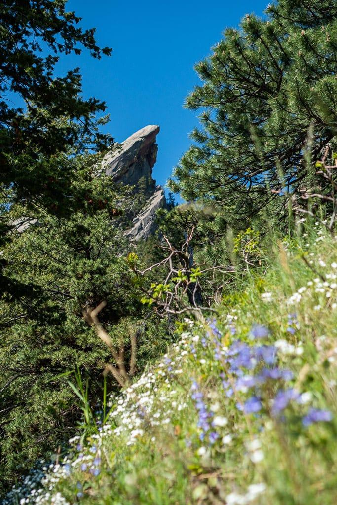 boulder flatirons hike - 3rd flatiron