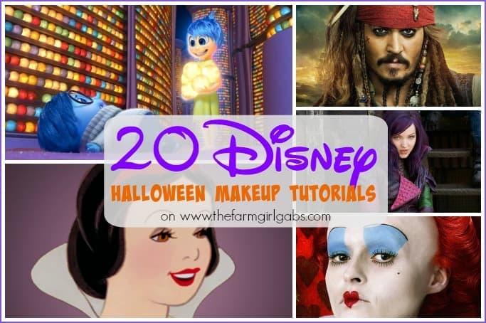 20 Disney Halloween Makeup Tutorials