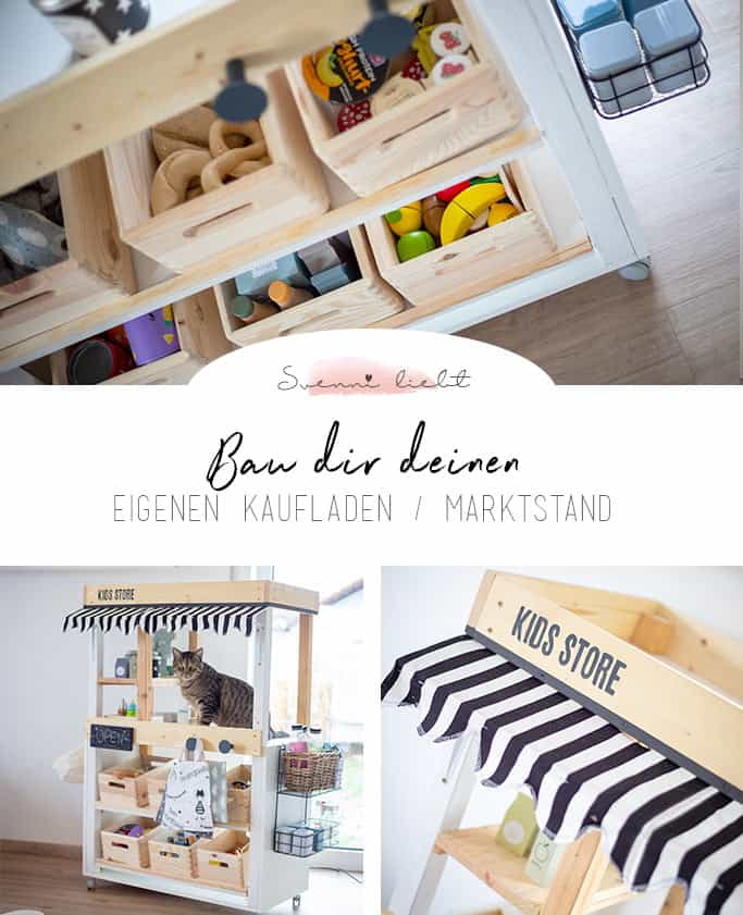 Bau dir deinen eigenen Kaufladen, Marktstand oder Kaufmannsladen