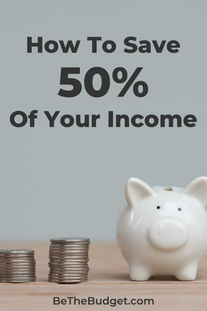 25 tips to save 50% of your income | Be The Budget