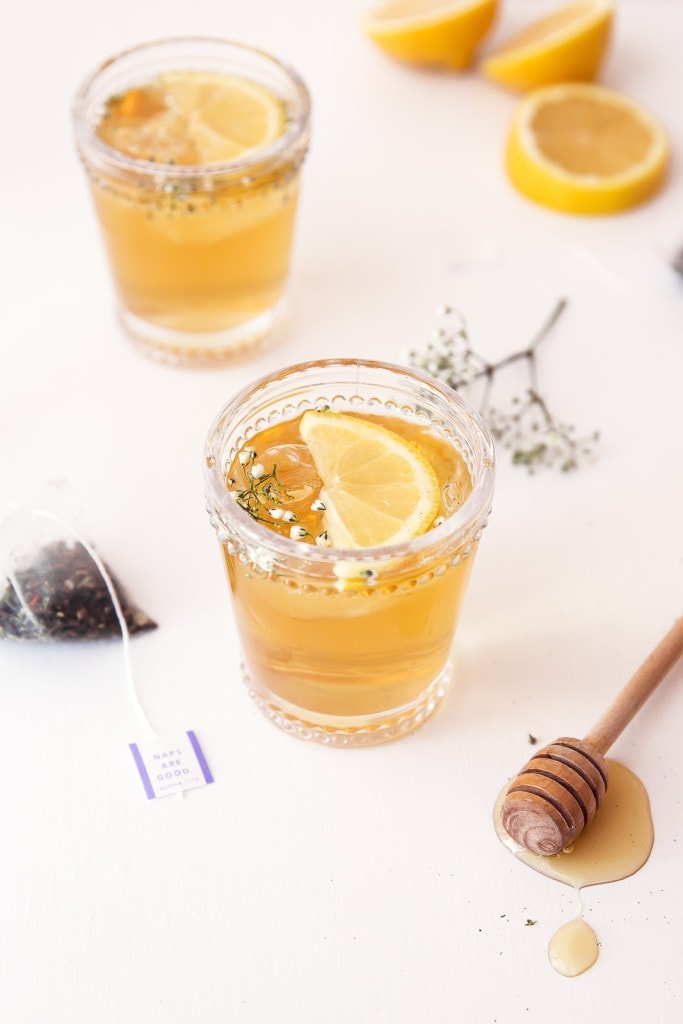 Chamomile, Whiskey and Honey Cocktail