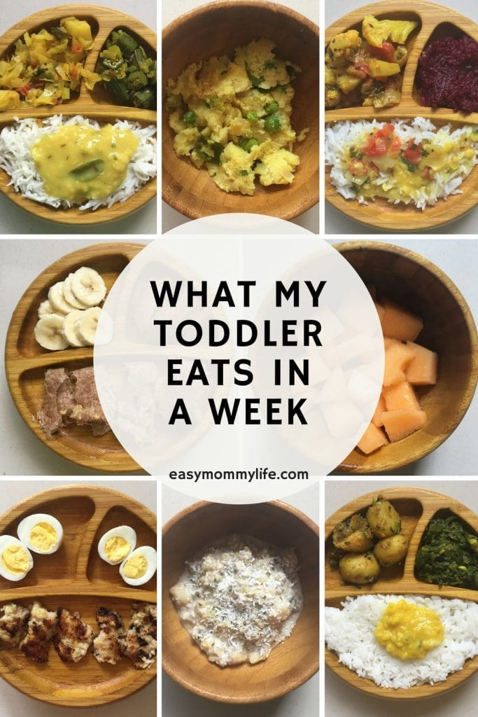 toddler eats in a week