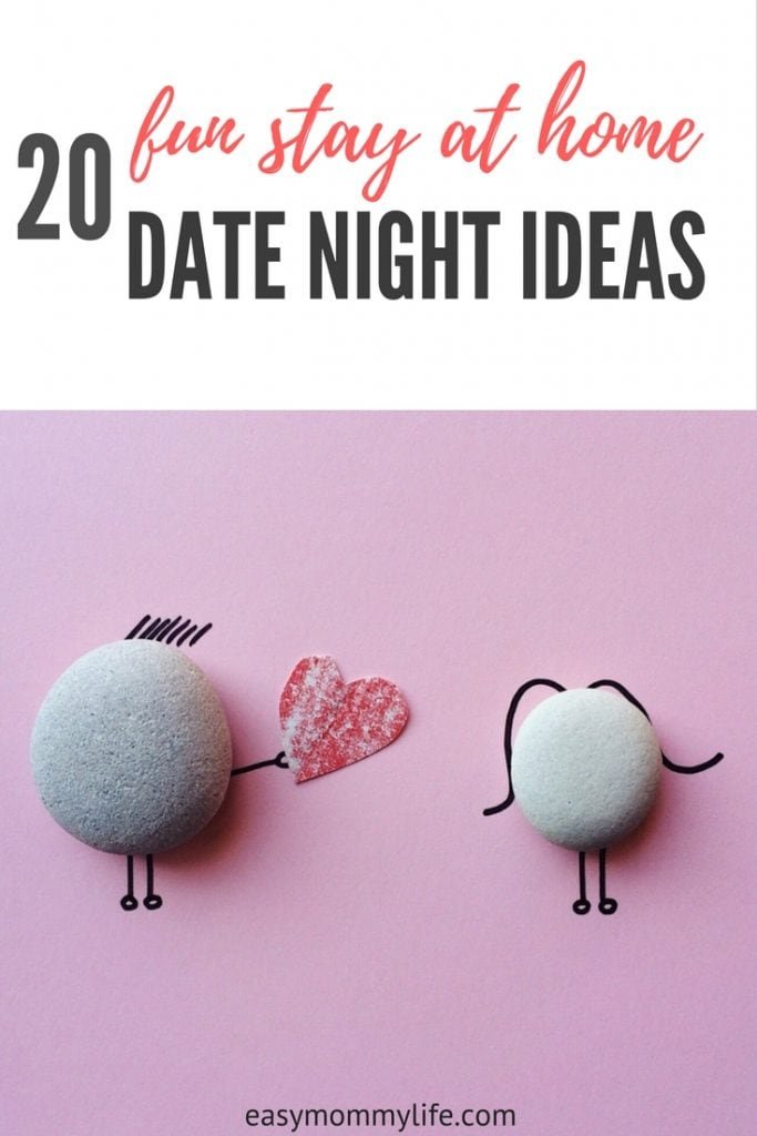 fun stay at home date night idea -couple-parents