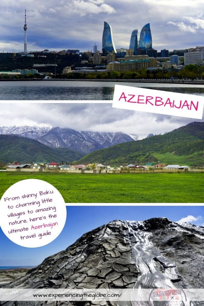 Discover a country that was closed for so long. Travel to Azerbaijan to see the petrodollar shinny Baku and the most charming little towns – Experiencing the Globe #Azerbaijan #Baku #Qabala #Sheki #Qobustan #OnTheBeatenPath #Wanderlust #IndependentTravel #SoloFemaleTravel #Backpacking #Adventures #TravelExperience