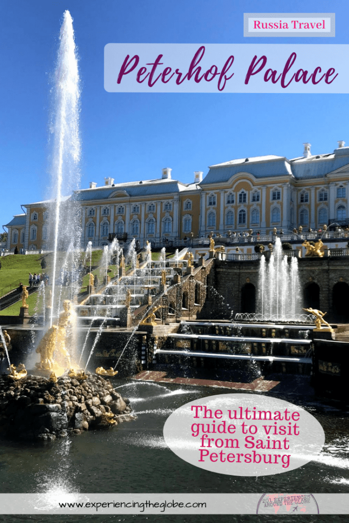 In this, the ultimate guide about Peterhof Palace, you'll find all you need to make the most out of your visit to the main parks of Peterhof and its most interesting sights, including suggested routes, how to escape the crowds, what palaces to visit, and how to get to Peterhof on your own from St. Petersburg – Experiencing the Globe