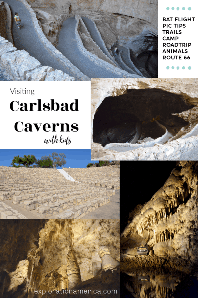 Carlsbad Caverns National Park pictures with Kids