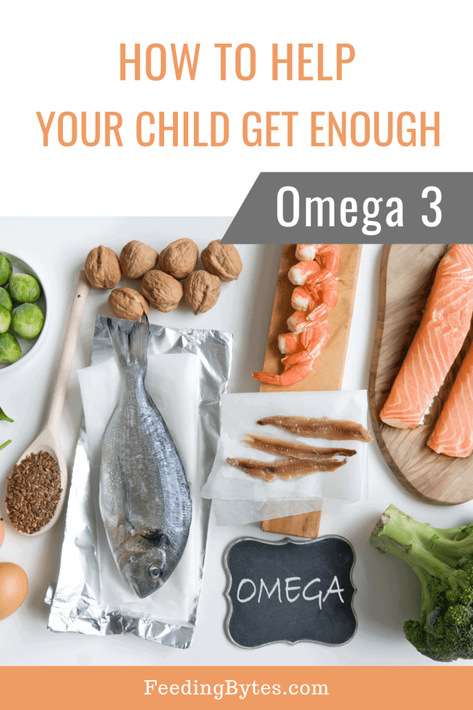 How much Omega3 do children need?