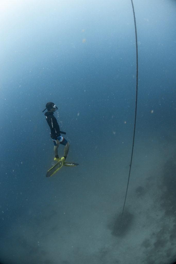 freediving กลั้น หายใจ