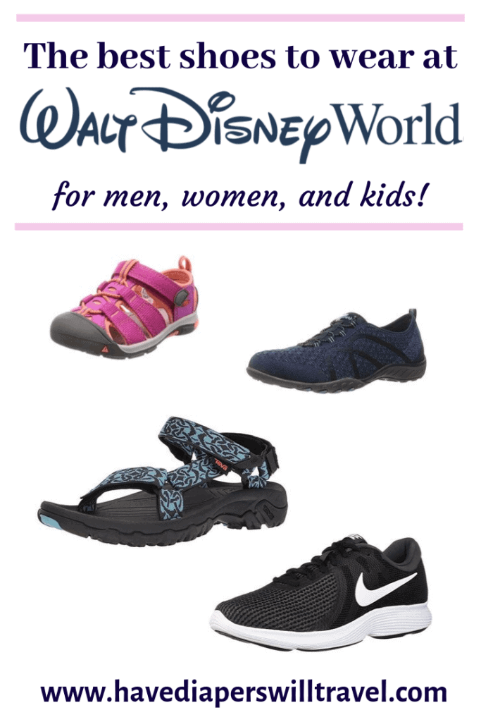 The best shoes for Disney World