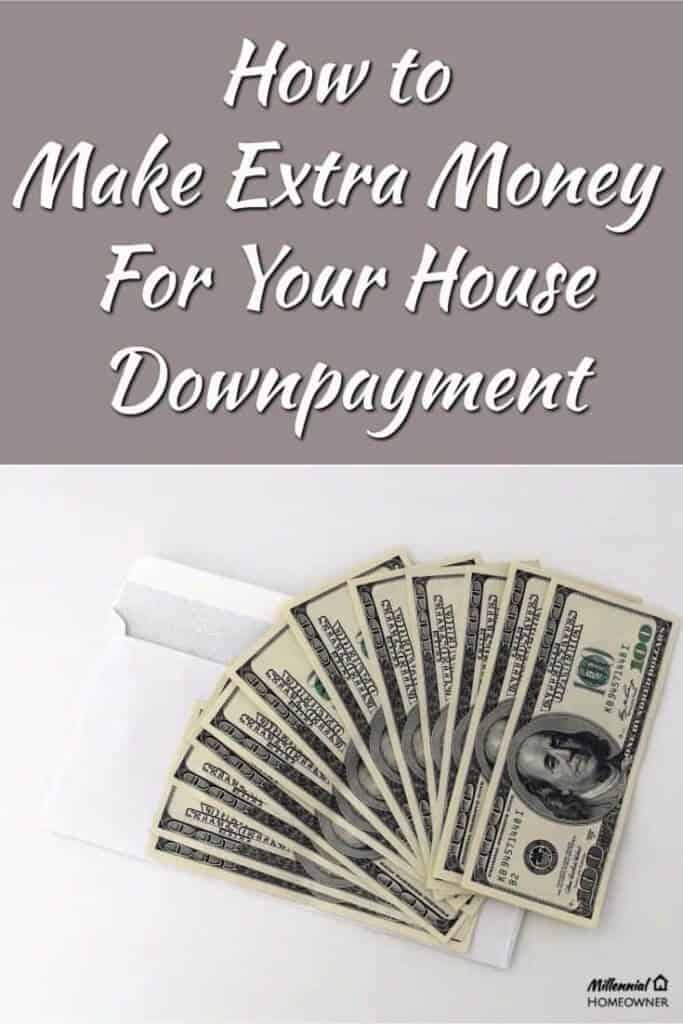 Here are some easy ways to start earning extra money for your house downpayment | Extra Money | Millennials | First Home | Downpayment |