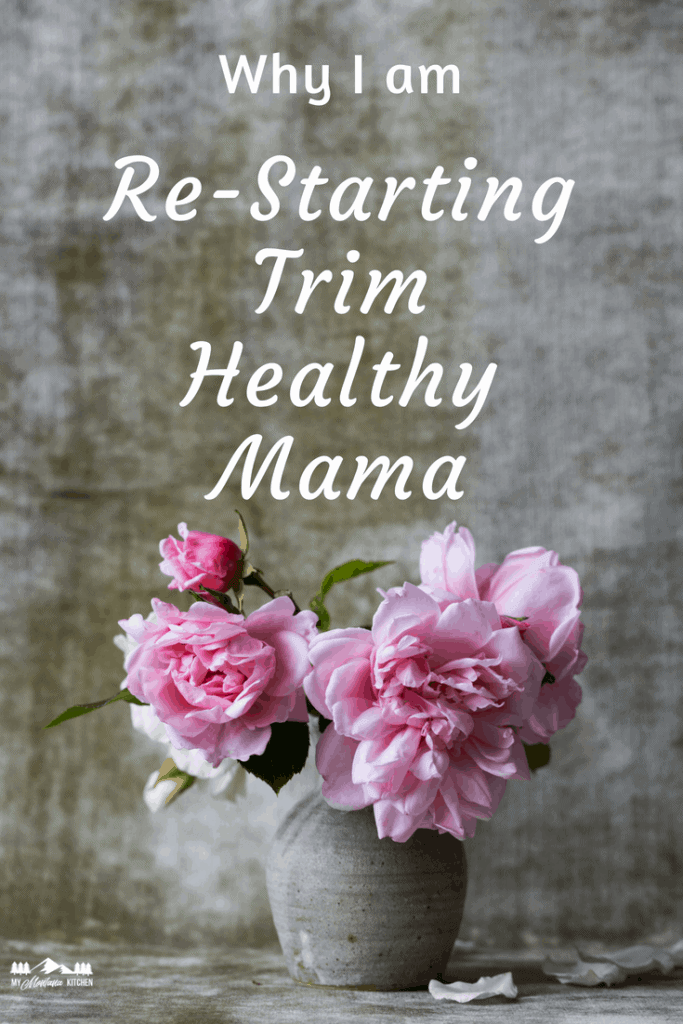 Why I am restarting Trim Healthy Mama, and a free 2 Week Challenge to help keep you on track!