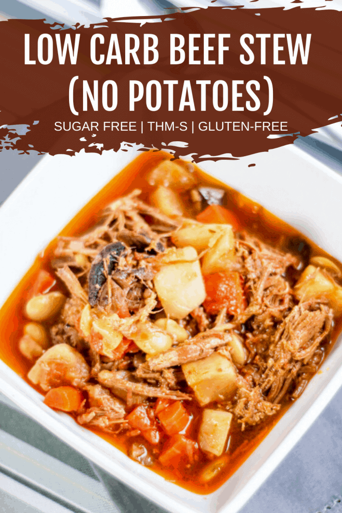 pin image for beef stew with no potatoes