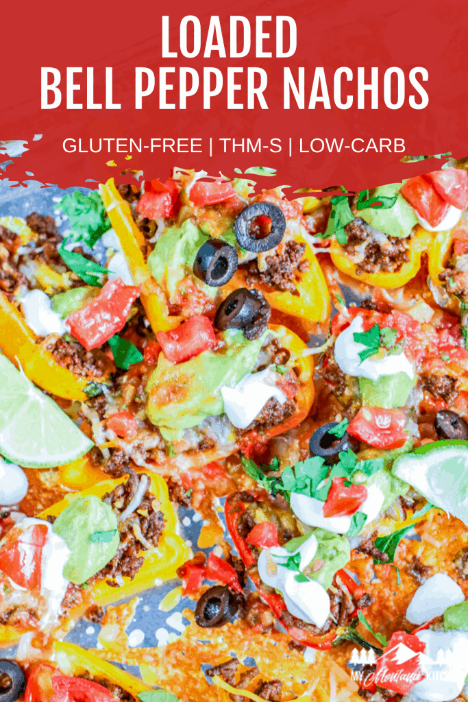 Low Carb Bell Pepper Nachos