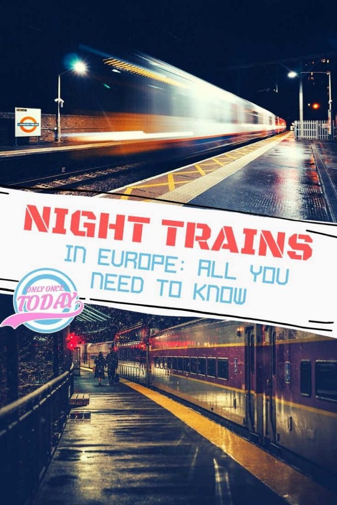 Night trains in Europe