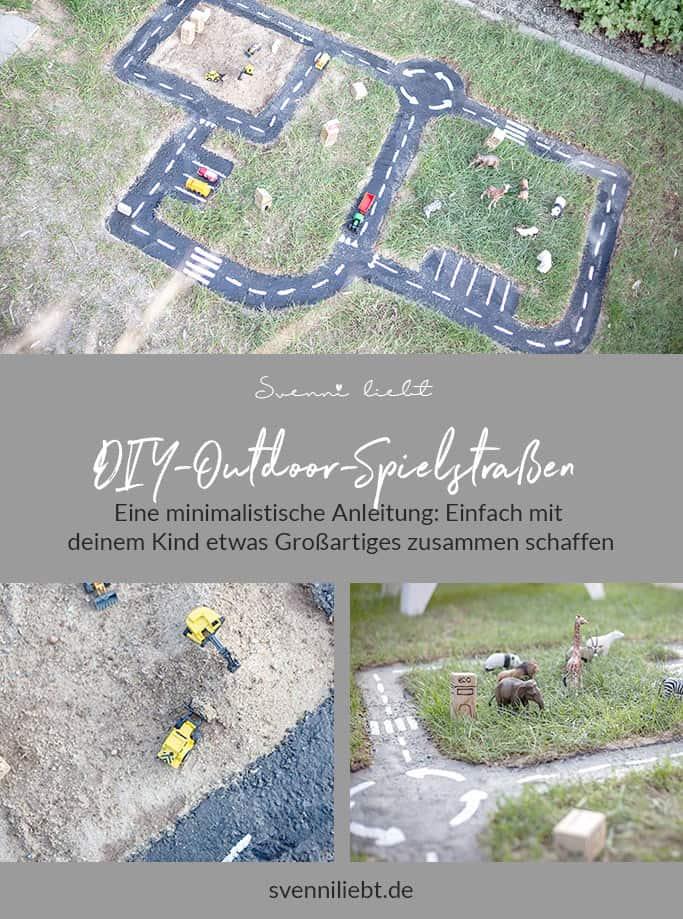 DIY-Outdoor-Spielstraßen aus Beton für kleine und große Gärten