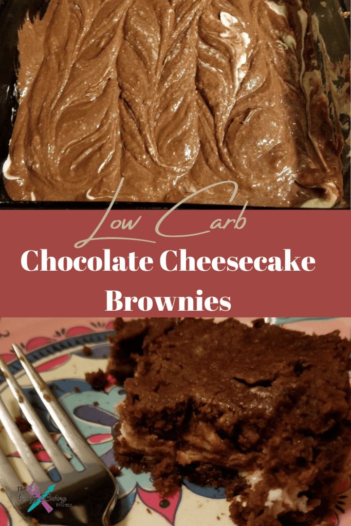 Low Carb Chocolate Cheesecake Brownies