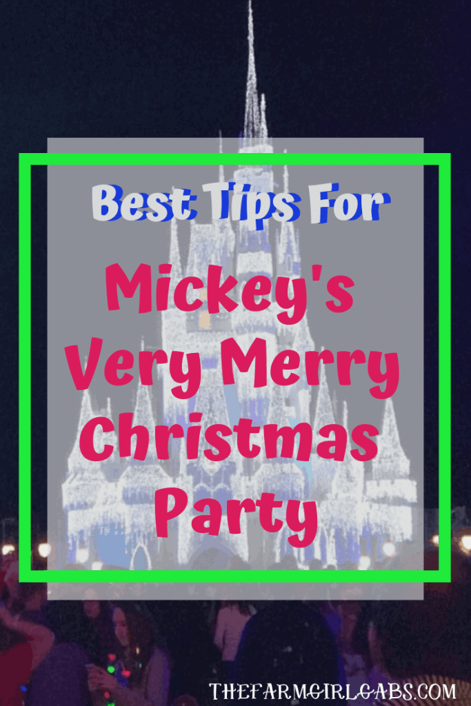 A Disney Christmas is the BEST Christmas! Here are some magical Tips For Mickey's Very Merry Christmas Party. #waltdisneyworld #disneyland #DisneyChristmas #MickeysVeryMerryChristmasParty