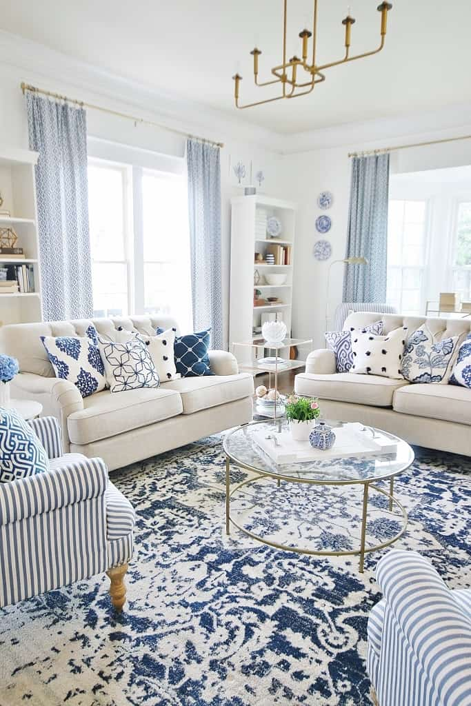 decorating ideas for spring living room