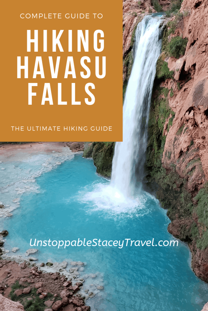 Complete Guide to Hiking Havasu Falls Pinterest post