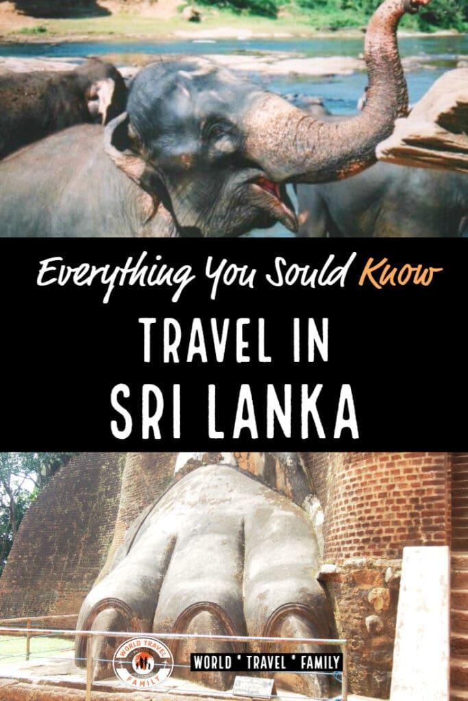 Travel in Sri Lanka World Travel Family Travel Blog