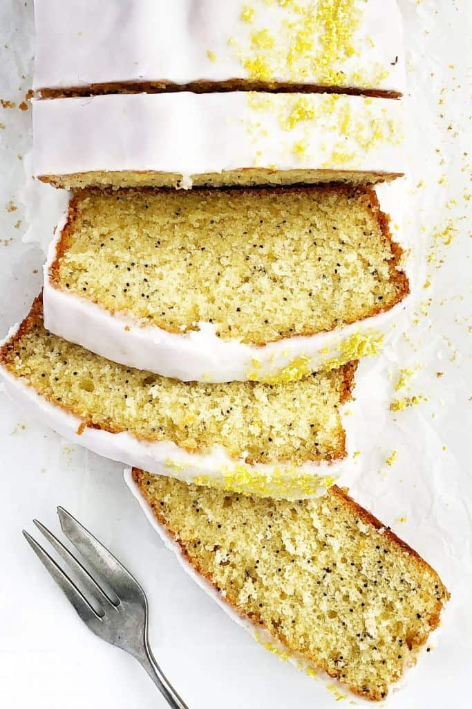 All in One Lemon Drizzle Loaf Cake