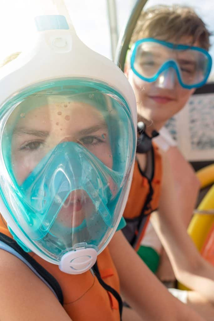 Full-Face Snorkel Mask for Children