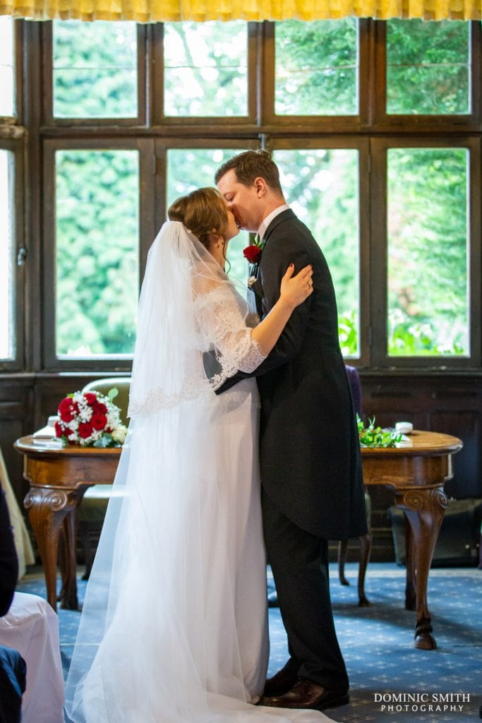 First Kiss at Highley Manor