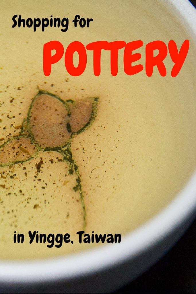 Yingge, Taiwan is the best place to buy Taiwanese ceramics, Taiwanese tea sets, and Taiwanese pottery.
