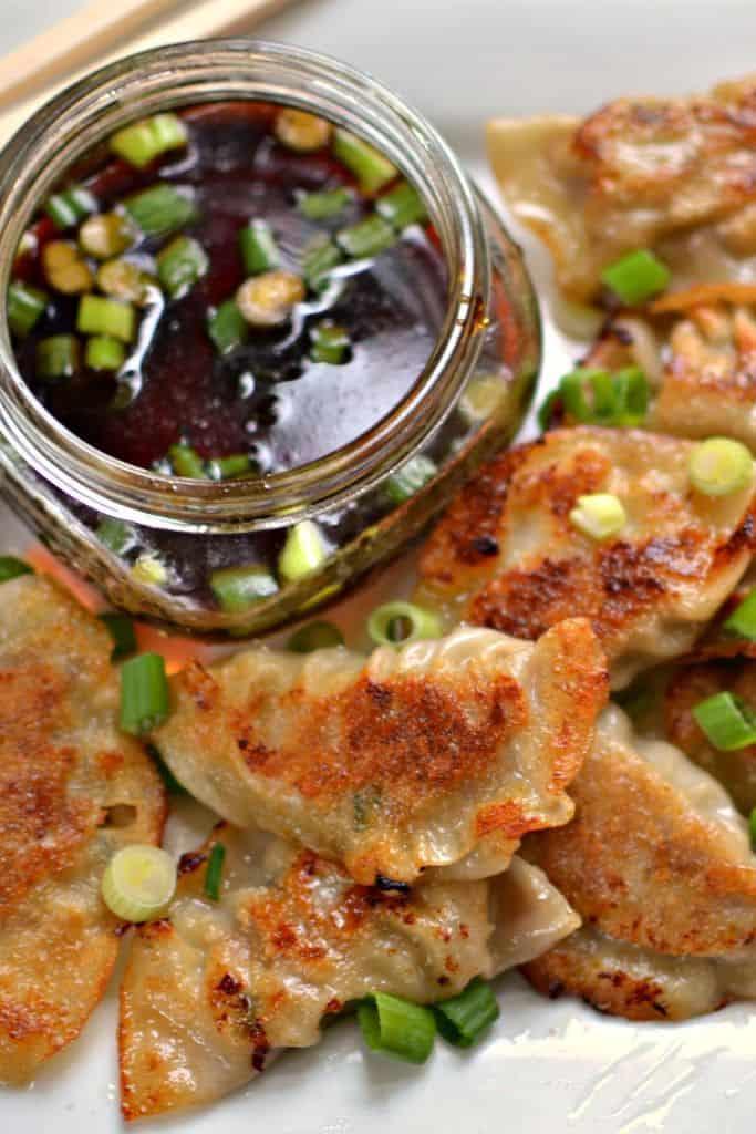 Delicious Pork Dumplings