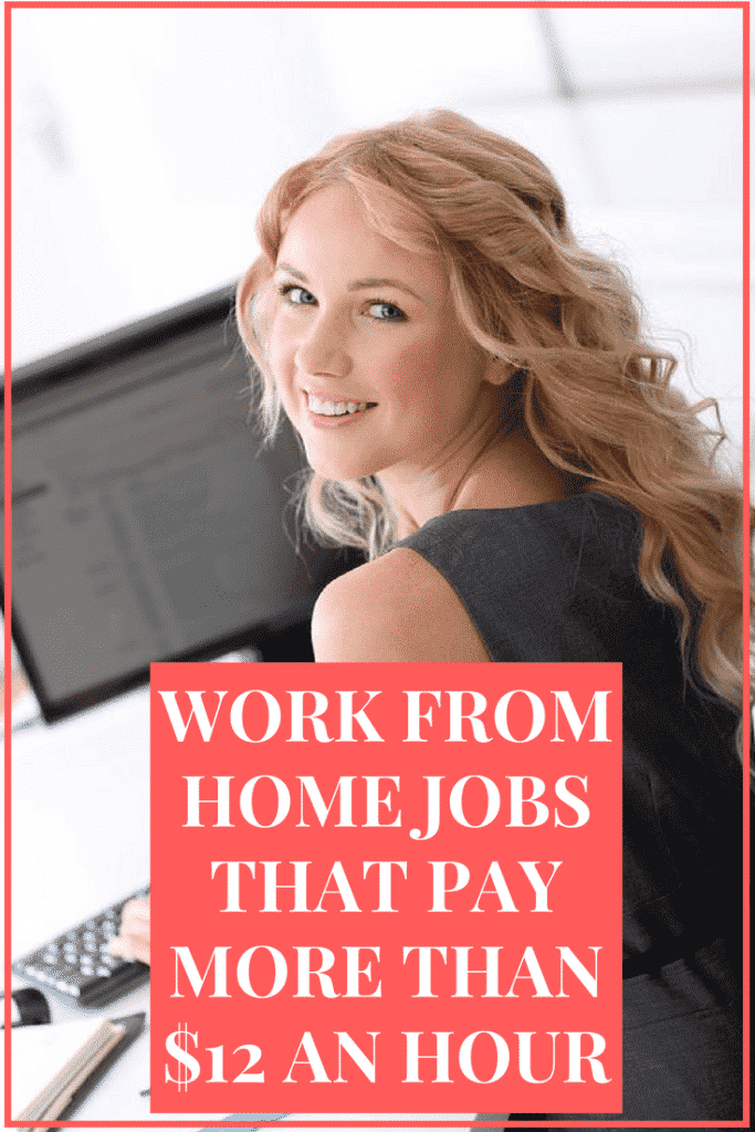 Telecommuting Jobs That Pay More Than $12 an Hour