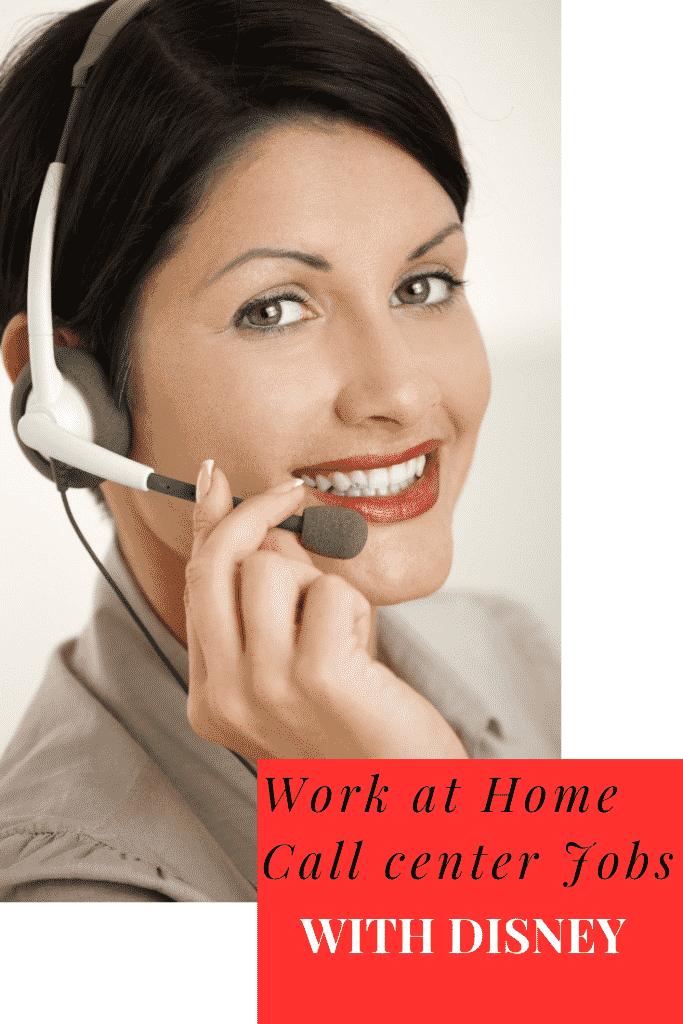 Disney Work at Home Call Center