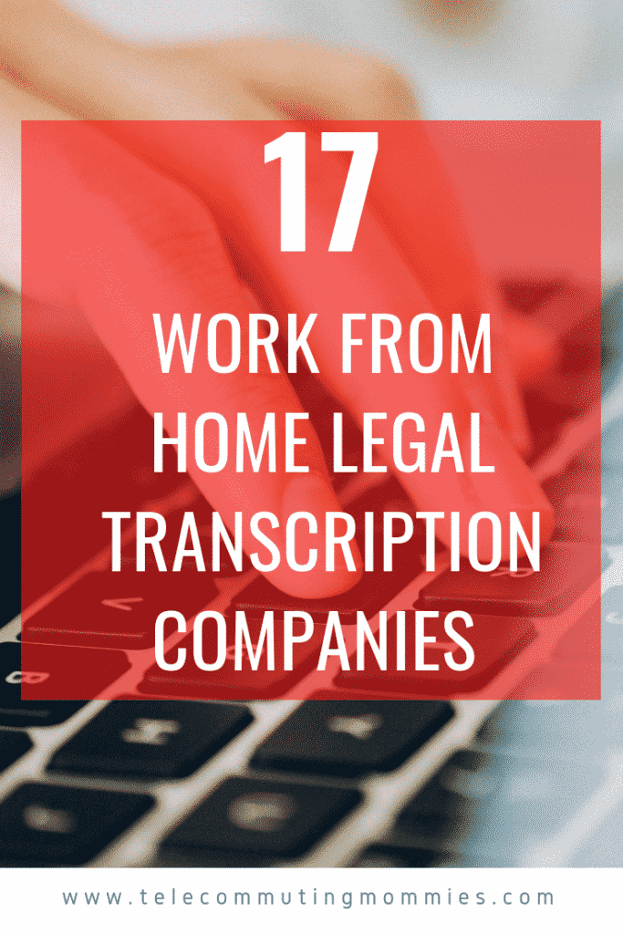Legal Transcription Jobs
