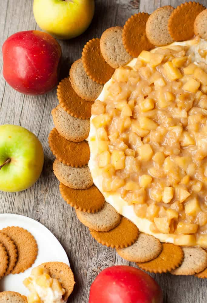 Caramel Apple Cheesecake Dip-11