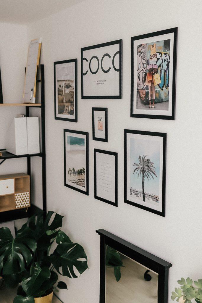 Biuro domowe w skandynawskim stylu