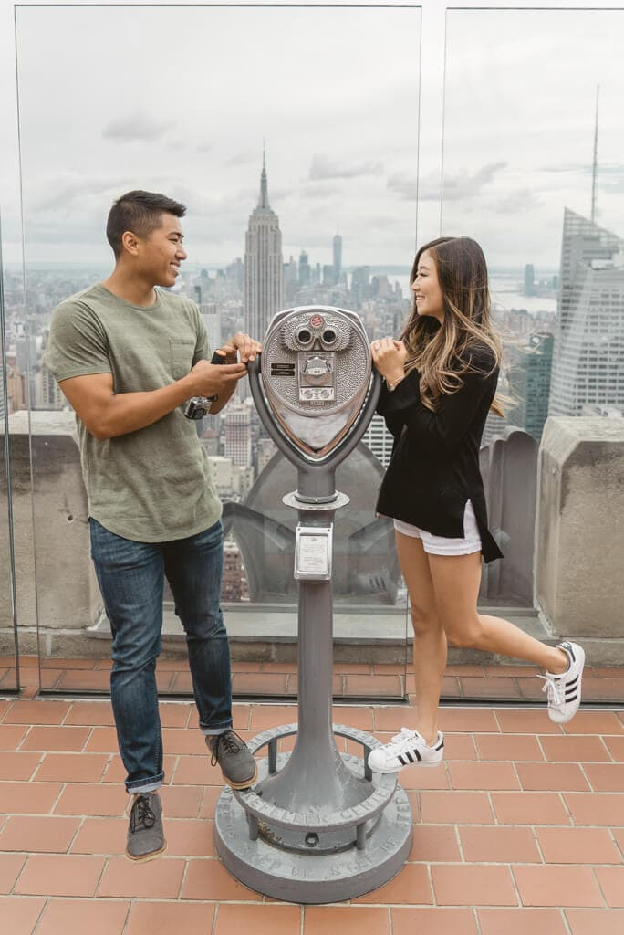 Photo 21 Top of The Rock Surprise Proposal | VladLeto