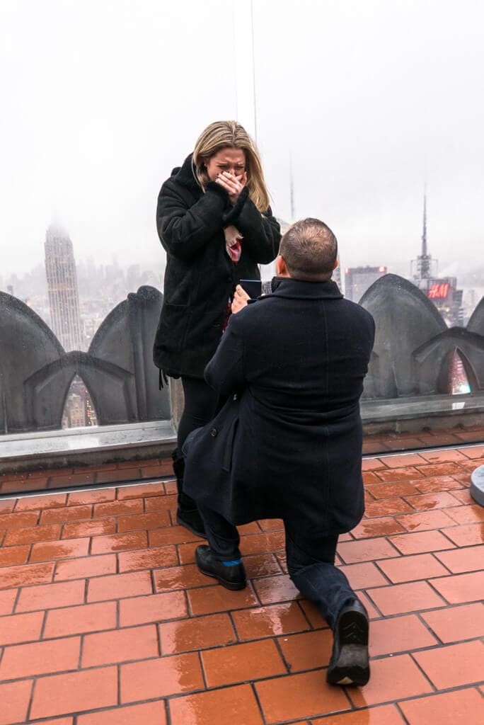 Photo 3 Top of The Rock Marriage Proposal