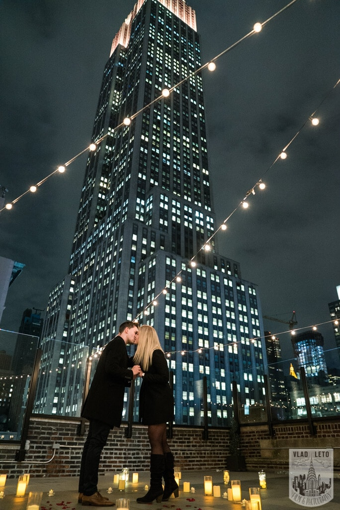 Photo 11 Private Rooftop Proposal with Empire State Building view