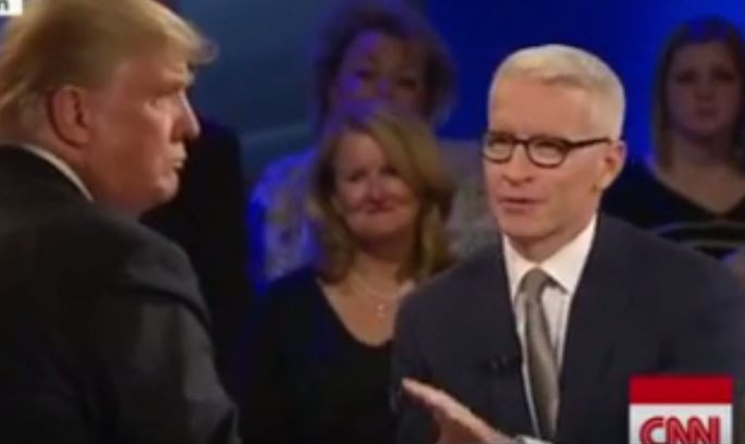 Anderson Cooper Calls Out Donald Trump For Arguing Like a Five Year Old at CNN Town Hall