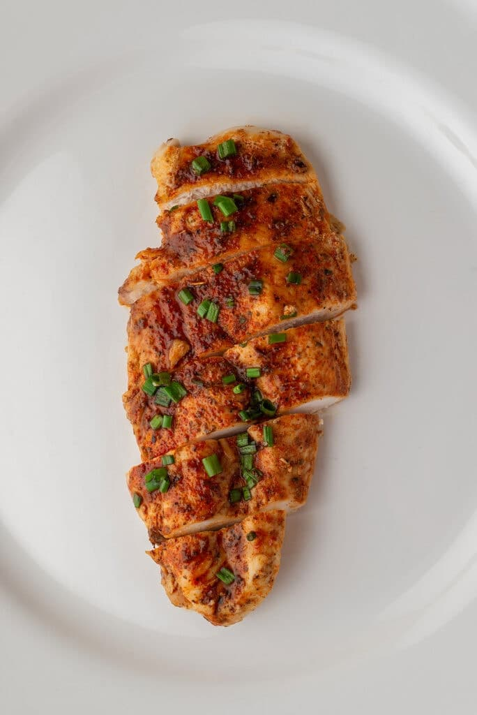 Chicken Breast Baked in Toaster Oven